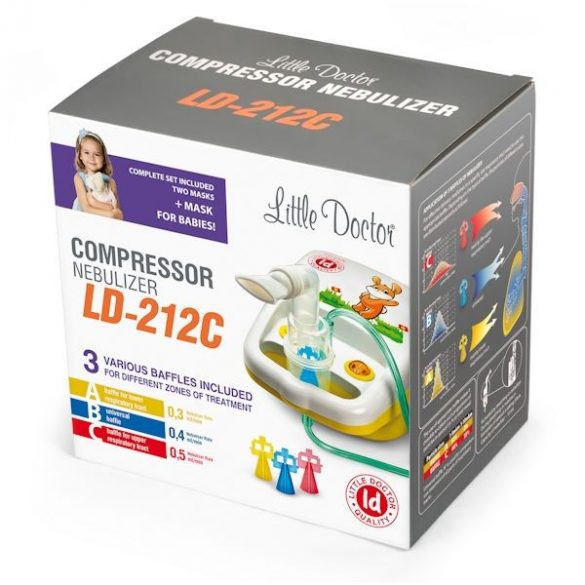 Little Doctor LD-212C Kompresszoros inhalátor