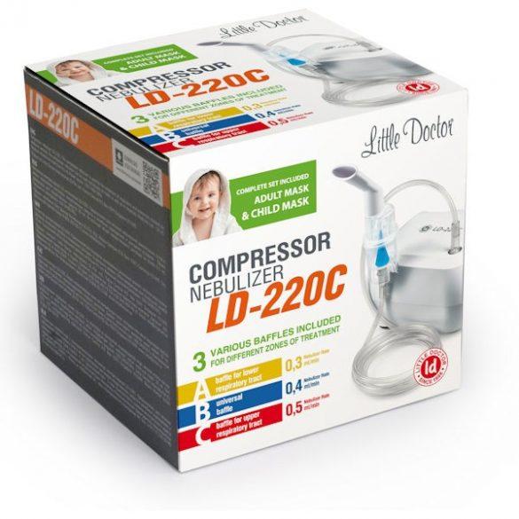 Little Doctor LD-220C Kompresszoros inhalátor