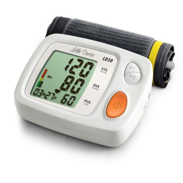 Little Doctor LD30 Autaomata felkarfos vérnyomásmérő hálózati adapterrel